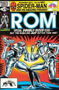 Cover Thumbnail for ROM (Marvel, 1979 series) #25 [Direct Edition]