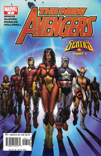 Cover Thumbnail for New Avengers (Marvel, 2005 series) #7 [Direct Edition]