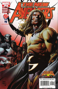 Cover Thumbnail for New Avengers (Marvel, 2005 series) #9 [Direct Edition]