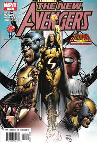 Cover Thumbnail for New Avengers (Marvel, 2005 series) #10 [Direct Edition]