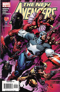 Cover Thumbnail for New Avengers (Marvel, 2005 series) #12 [Direct Edition]