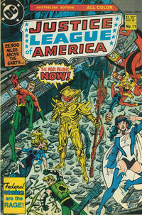 Cover Thumbnail for Justice League of America (Federal, 1983 series) #11
