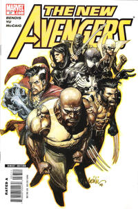 Cover Thumbnail for New Avengers (Marvel, 2005 series) #37 [Direct]