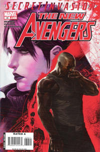 Cover Thumbnail for New Avengers (Marvel, 2005 series) #38 [Direct Edition]