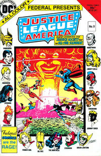 Cover Thumbnail for Justice League of America (Federal, 1983 series) #9 [8]