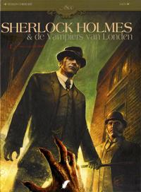 Cover Thumbnail for Sherlock Holmes & de Vampiers van Londen (Daedalus, 2010 series) #1 - De roep van het bloed
