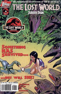 Cover Thumbnail for The Lost World: Jurassic Park (Topps, 1997 series) #1 [Art Cover]