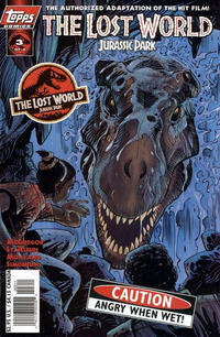 Cover Thumbnail for The Lost World: Jurassic Park (Topps, 1997 series) #3 [Art Cover]