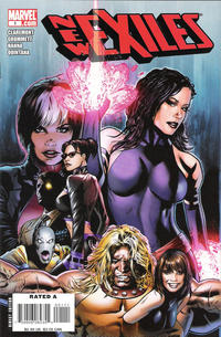 Cover Thumbnail for New Exiles (Marvel, 2008 series) #1 [Direct Edition Greg Land Cover]