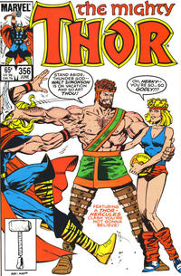 Cover Thumbnail for Thor (Marvel, 1966 series) #356