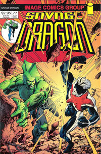 Cover Thumbnail for Savage Dragon (Image, 1993 series) #77 [Ordway Cover]