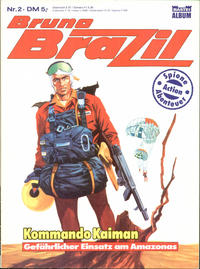 Cover Thumbnail for Bruno Brazil (Bastei Verlag, 1985 series) #2