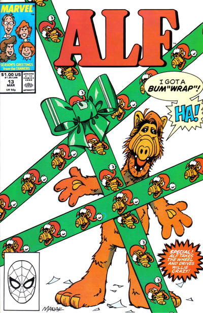 Cover for ALF (Marvel, 1988 series) #13 [Direct]