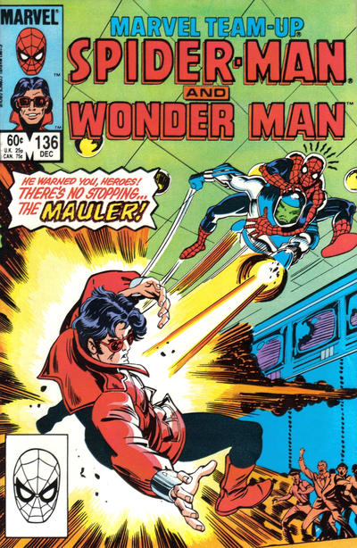 Cover for Marvel Team-Up (Marvel, 1972 series) #136 [Newsstand Edition]