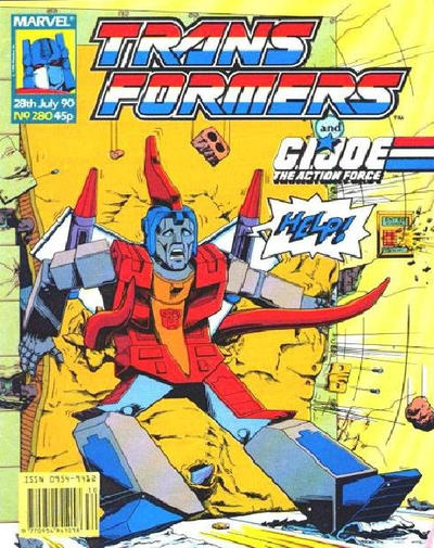 Cover for Transformers (Marvel UK, 1984 series) #280