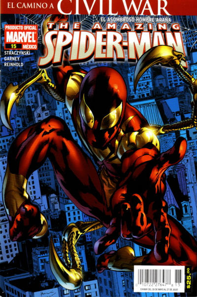 Cover for The Amazing Spider-Man, el Asombroso Hombre Araña (Editorial Televisa, 2005 series) #15