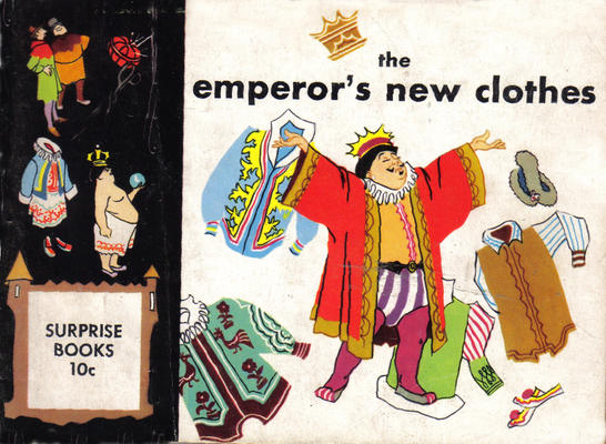 Cover for The Emperor's New Clothes (Dell, 1950 series)
