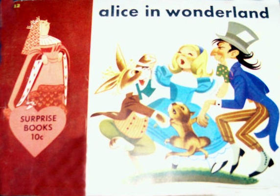 Cover for Alice in Wonderland (Dell, 1950 series)