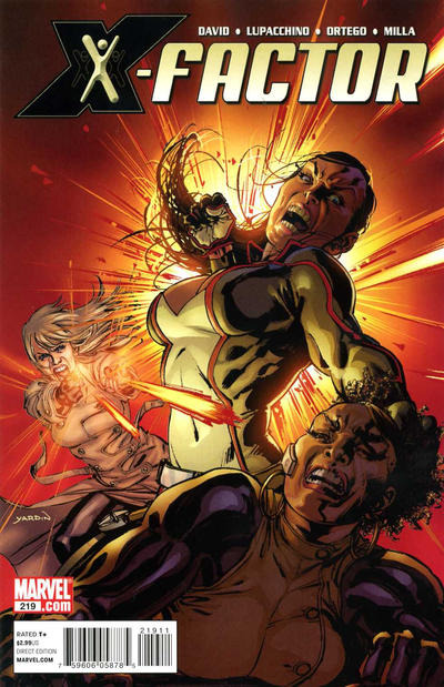 Cover for X-Factor (Marvel, 2006 series) #219