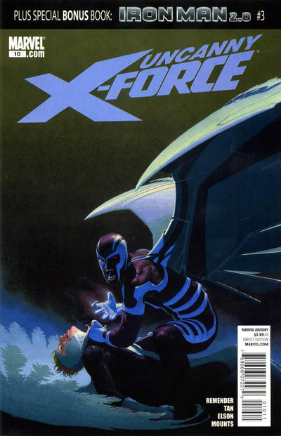 Cover for Uncanny X-Force (Marvel, 2010 series) #10