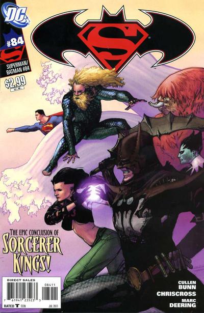 Cover for Superman / Batman (DC, 2003 series) #84
