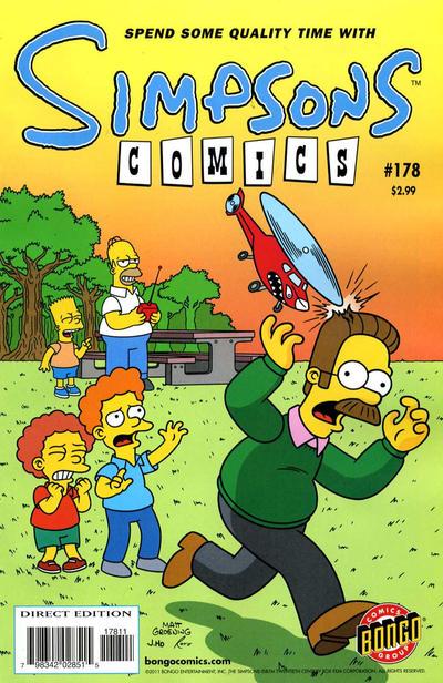 Cover for Simpsons Comics (Bongo, 1993 series) #178