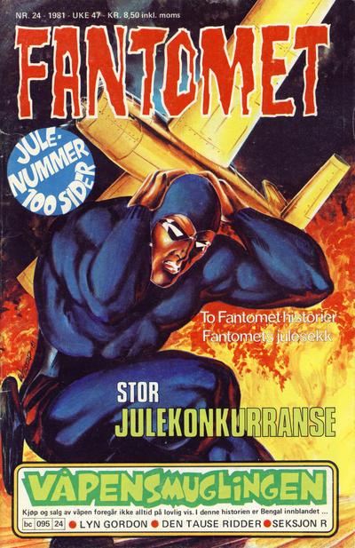 Cover for Fantomet (Semic, 1976 series) #24/1981