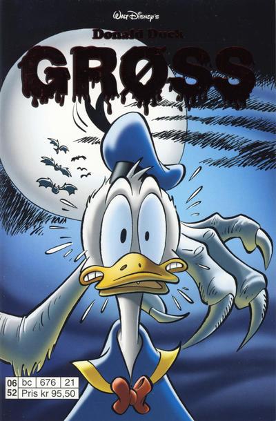Cover for Donald Duck Tema pocket; Walt Disney's Tema pocket (Hjemmet / Egmont, 1997 series) #Donald Duck Grøss