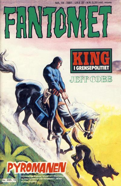 Cover for Fantomet (Semic, 1976 series) #19/1981