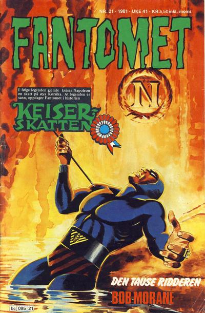 Cover for Fantomet (Semic, 1976 series) #21/1981