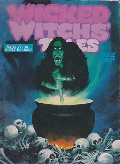 Cover for Wicked Witchs' Tales (Gredown, 1978 series) #2