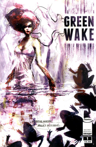Cover for Green Wake (Image, 2011 series) #1 [Second Printing]
