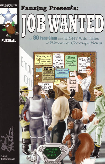Cover for Fanzing Presents: Job Wanted (Shooting Star Comics, 2003 series) #1