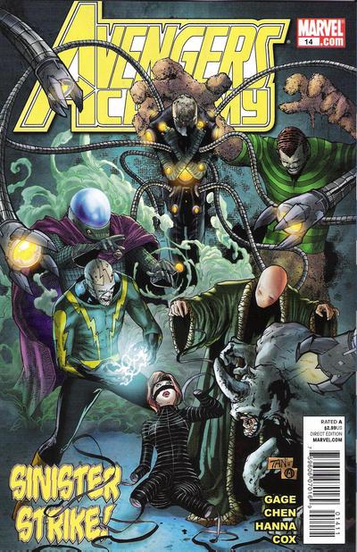 Cover for Avengers Academy (Marvel, 2010 series) #14