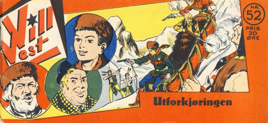 Cover for Vill Vest (Serieforlaget / Se-Bladene / Stabenfeldt, 1953 series) #52/1954