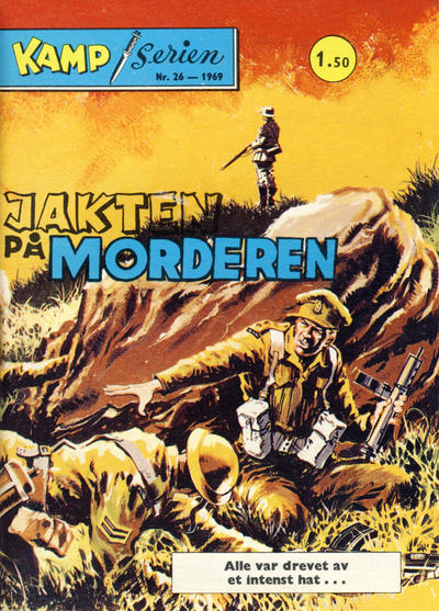 Cover for Kamp-serien (Serieforlaget / Se-Bladene / Stabenfeldt, 1964 series) #26/1969