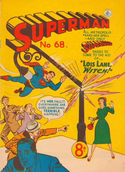 Cover for Superman (K. G. Murray, 1947 series) #68