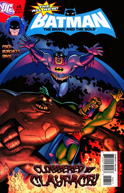 Cover for The All-New Batman: The Brave and the Bold (DC, 2011 series) #6