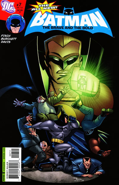 Cover for The All-New Batman: The Brave and the Bold (DC, 2011 series) #7