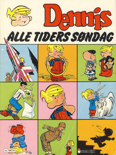 Cover for Dennis Album (Semic, 1980 series) #[1] - Alle tiders søndag