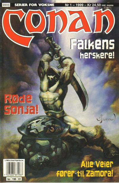 Cover for Conan (Bladkompaniet / Schibsted, 1990 series) #1/1999