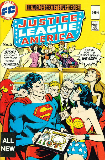 Cover for Justice League of America (Federal, 1983 series) #2
