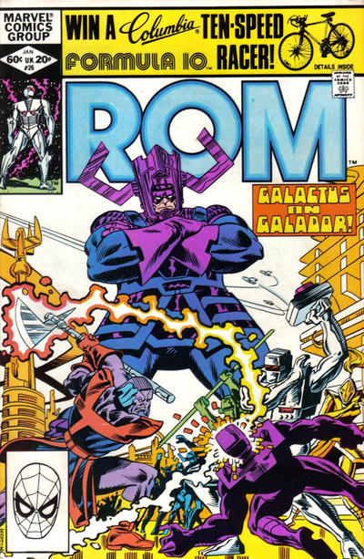 Cover for ROM (Marvel, 1979 series) #26 [Direct Edition]