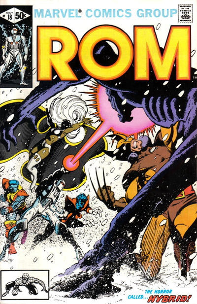 Cover for ROM (Marvel, 1979 series) #18 [Newsstand Edition]
