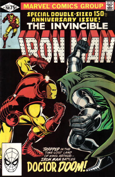 Cover for Iron Man (Marvel, 1968 series) #150 [Direct Edition]