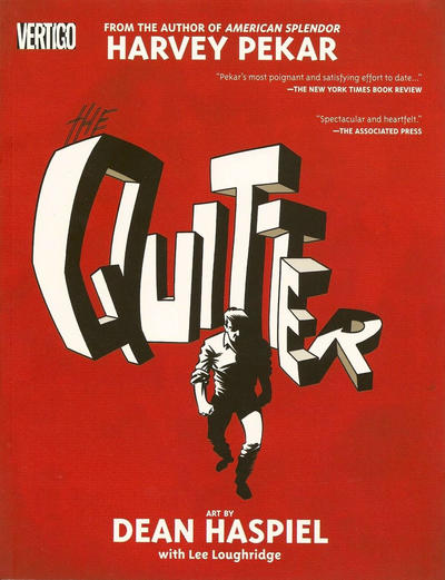 Cover for The Quitter (DC, 2006 series)
