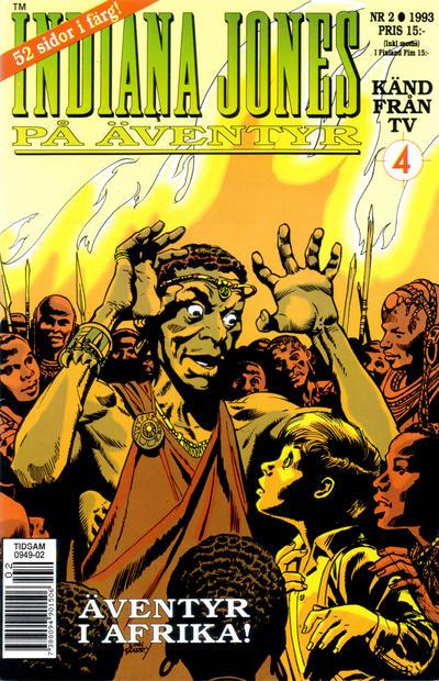 Cover for Indiana Jones på äventyr (Semic, 1993 series) #2/1993