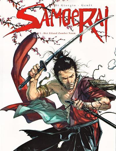 Cover for Samoerai (Daedalus, 2007 series) #5 - Het eiland zonder naam