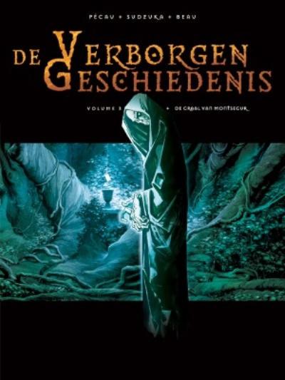 Cover for De Verborgen Geschiedenis (Silvester, 2006 series) #3 - De graal van Montsegur