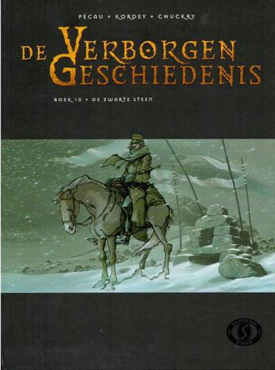 Cover for De Verborgen Geschiedenis (Silvester, 2006 series) #10 - De zwarte steen